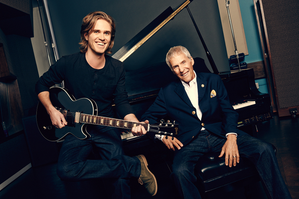 Broadway's Kyle Riabko, left, is the creator of a new revue featuring the music of Burt Bacharach.